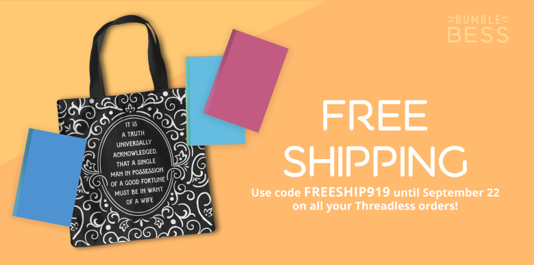 Free Shipping available through September 22 on Threadless.com