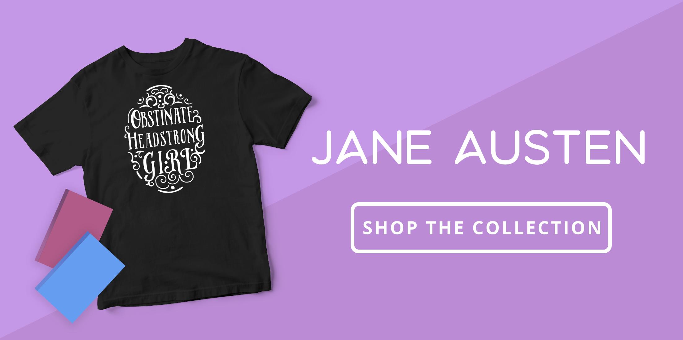 Shop the Collection: Jane Austen