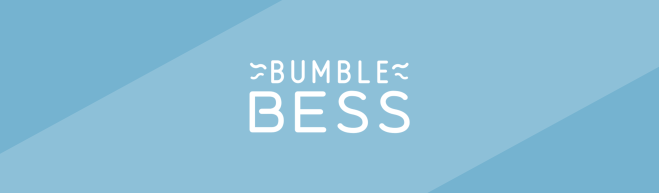 Blue header featuring the BumbleBess logo