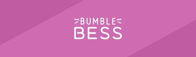 Violet header featuring the BumbleBess logo