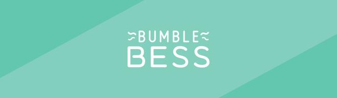 Mint green header featuring the BumbleBess logo