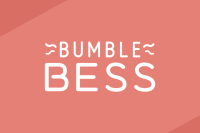 Brick red header featuring the BumbleBess logo