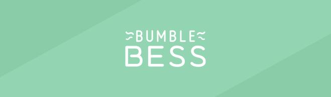Sea green header featuring the BumbleBess logo