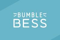 Slate blue header featuring the BumbleBess logo